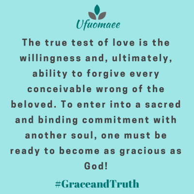 As Gracious As God Grace And Truth