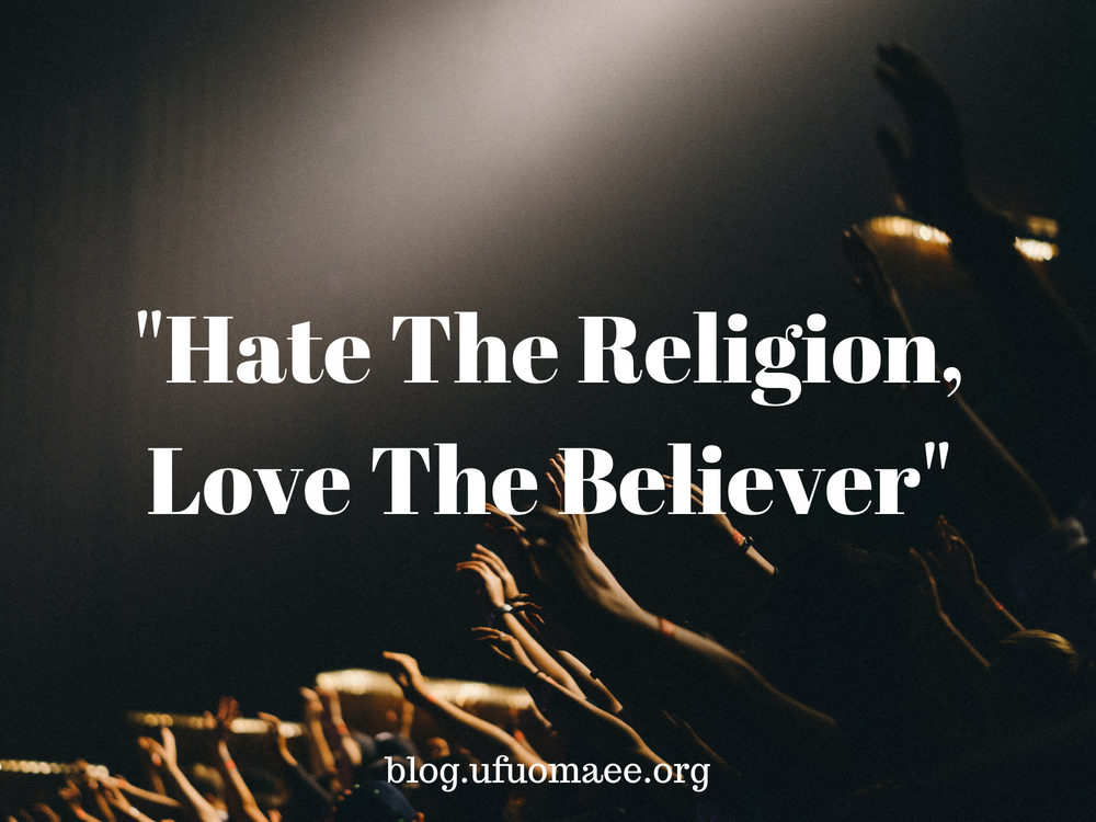 """Editor's Pick: """"Hate The Religion, Love The Believer"""""""