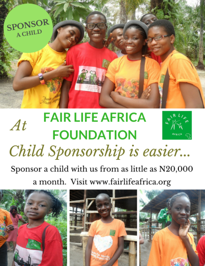FLA Child Sponsorship Flyer