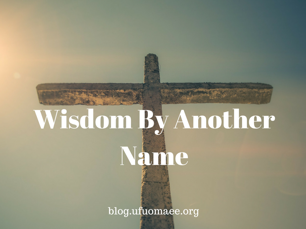 Editor's Pick: Wisdom By Another Name