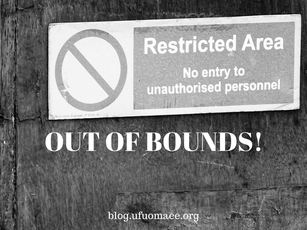 Editor's Pick: OUT OF BOUNDS!