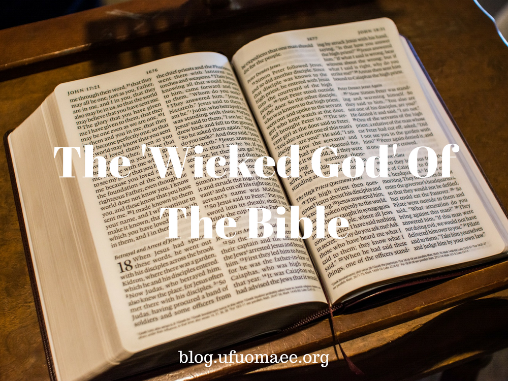 Editor's Pick: The 'Wicked God' of the Bible