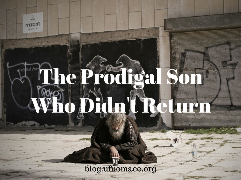 Editor's Pick: The Prodigal Son Who Didn't Return…